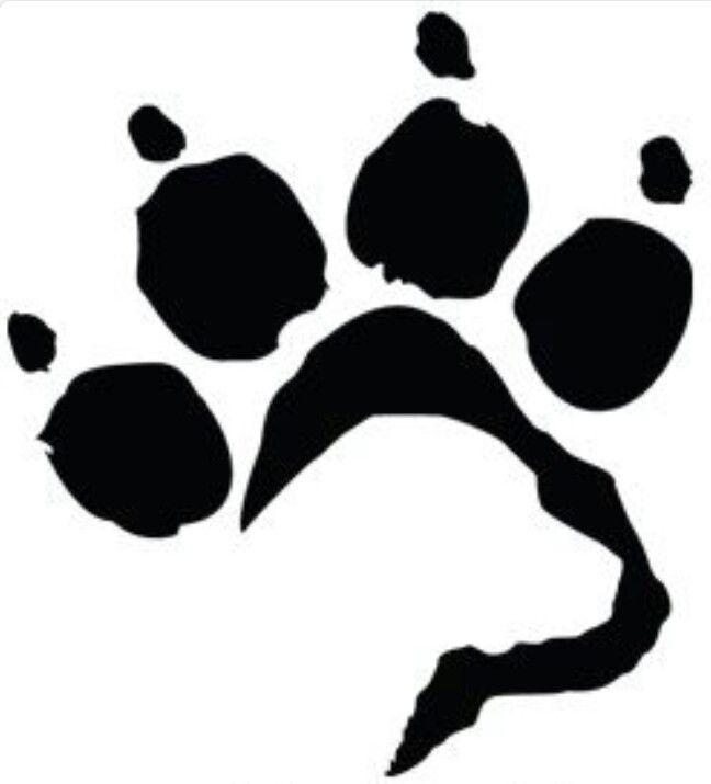 dog paw prints in - photo #19