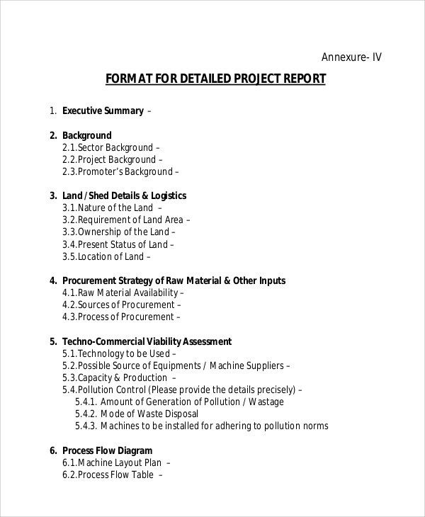 Executive Summary Format For Project Report Cv Executive Summary - sample project report