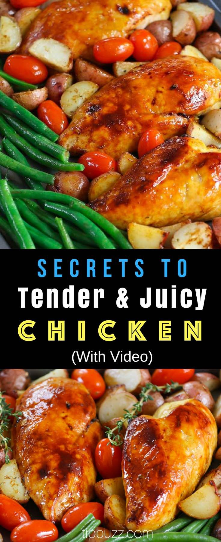 How Long to Bake Chicken {Secret to Perfect Chicken} | TipBuzz