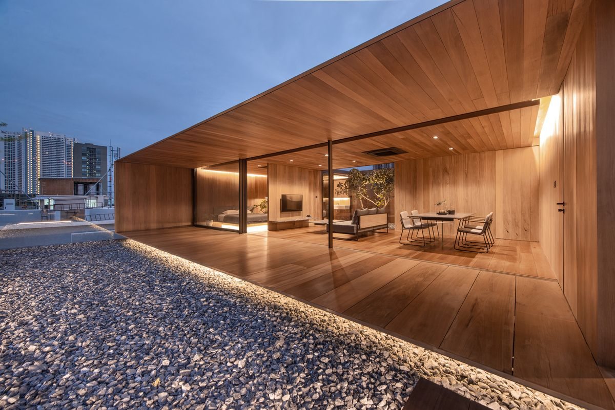 Gallery of The Skyscape Rooftop House / WARchitect - 28