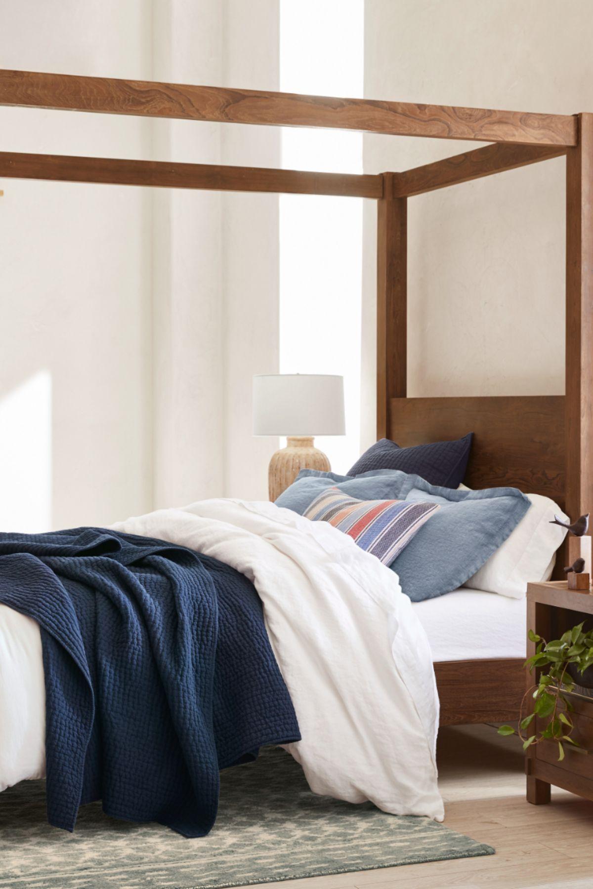 Menlo Belgian Linen Bedroom