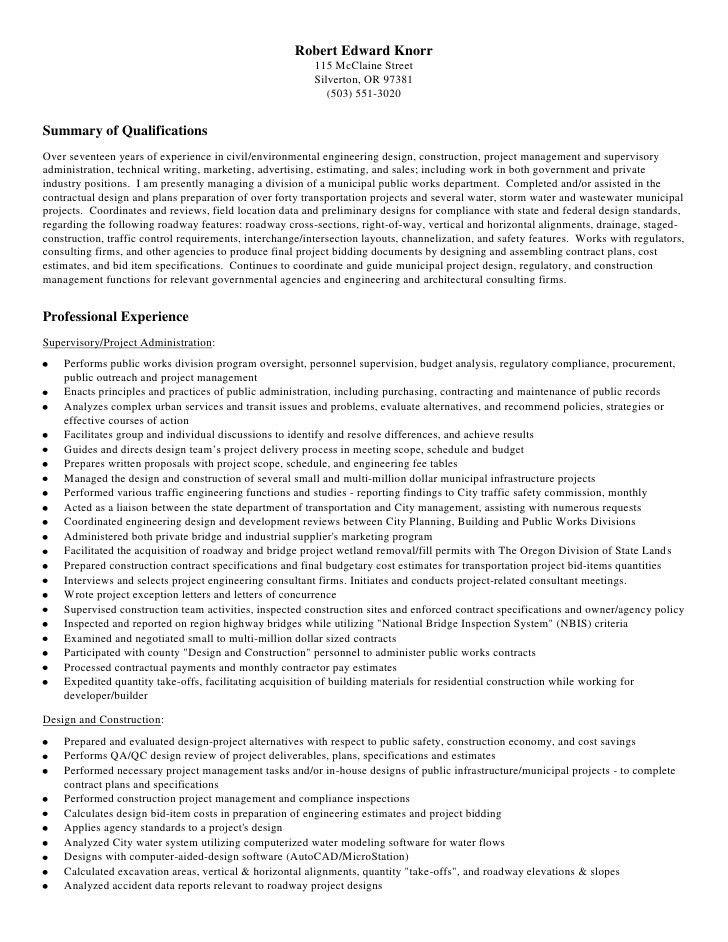 sample engineering technology resume manufacturing engineering