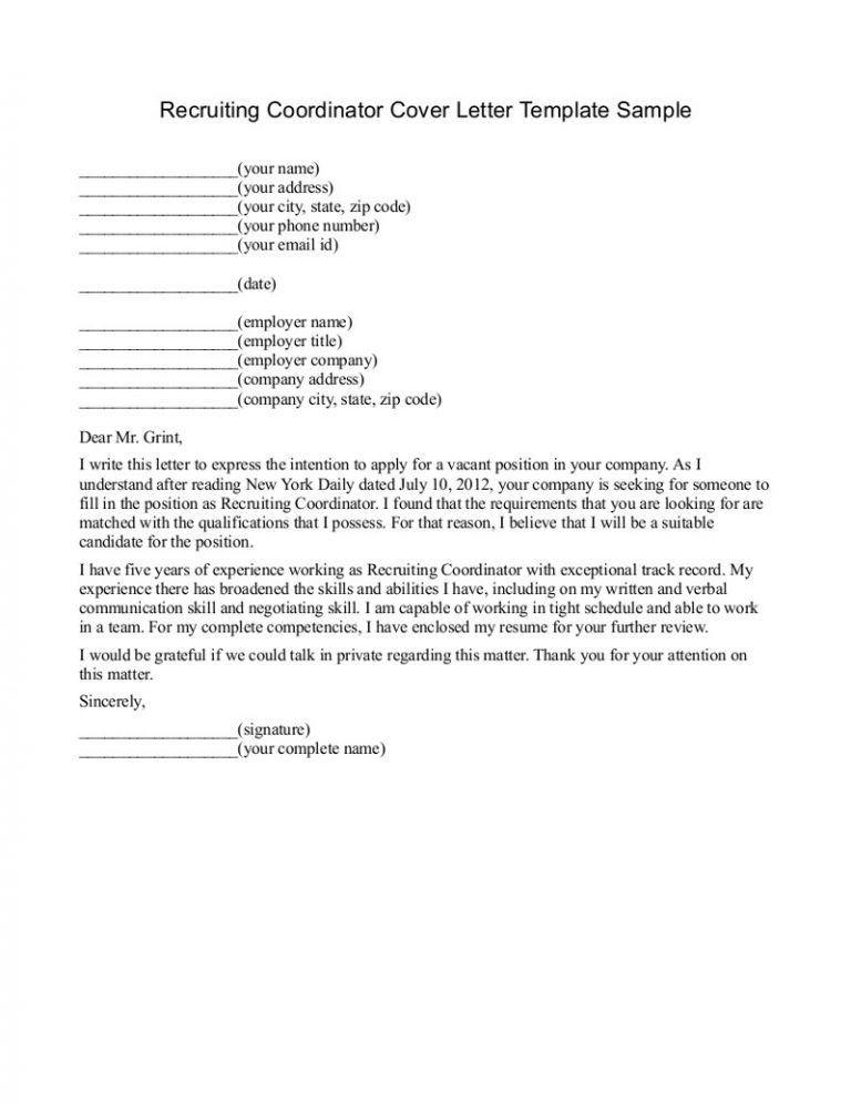 Clerk Typist Cover Letter Sample