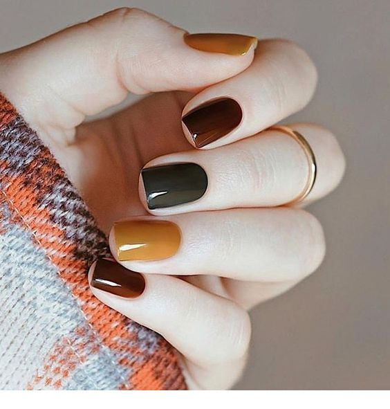 The perfect nails for fall time
