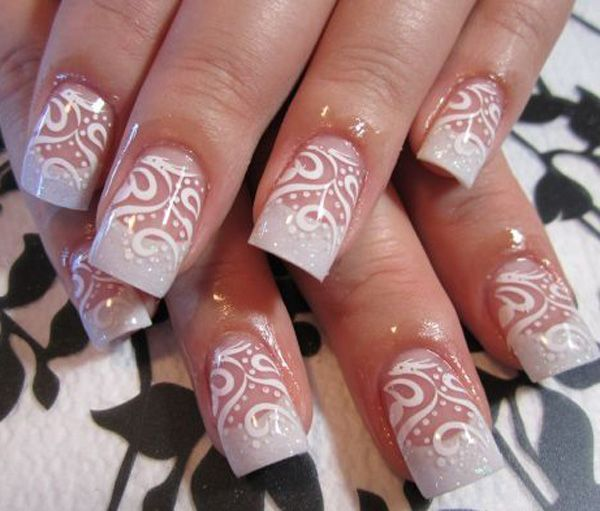 You can see stencils of these swirls for a more synchronized look. You can then add the dots later on. There are more designs that you can actually choose from.