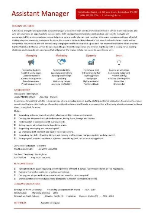 Example Of Restaurant Manager Resume Unforgettable Restaurant - restaurant manager resume template