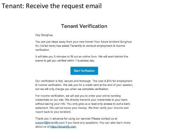 Tenant Verification Form Sample Tenant Verification Form 8 Free - income verification form