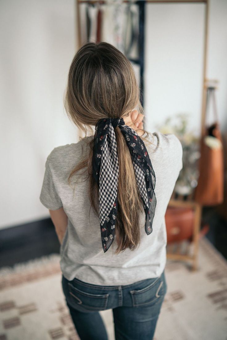 Top 5 Ways to Style a Scarf for Long Hair