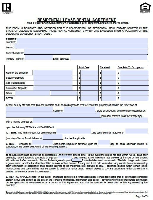 Free Rental Lease Agreement Download 10 Best Rental Agreements - free rental lease agreement download
