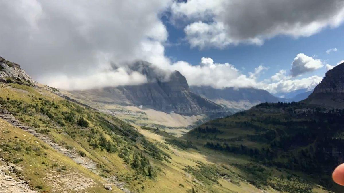 Timelapse of Glacier National Park