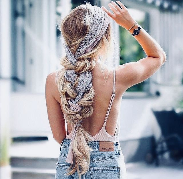 "braided hair with hair scarf<p><a href=""http://www.homeinteriordesign.org/2018/02/short-guide-to-interior-decoration.html"">Short guide to interior decoration</a></p>"