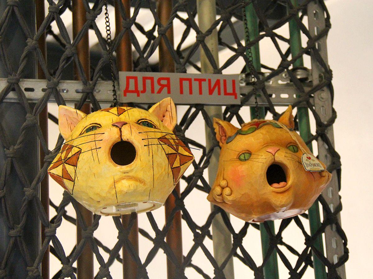 Таких скворечников раньше не встречали)) Фото: Evgenia Shveda