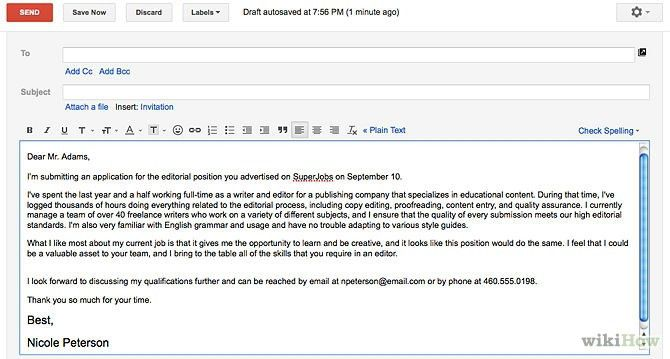 Resume Email Cover Letter 6 Easy Steps For Emailing A Resume And - when emailing a resume