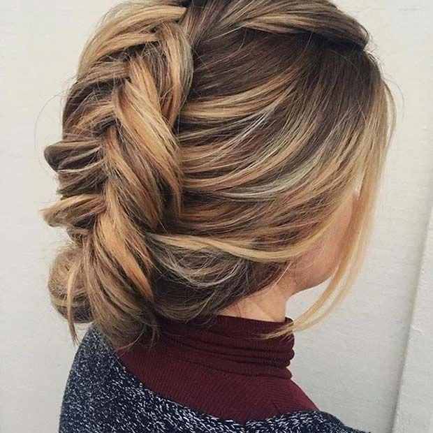 "Fishtail Updo for Prom <a class=""pintag"" href=""/explore/Weddinghairstyles/"" title=""#Weddinghairstyles explore Pinterest"">#Weddinghairstyles</a><p><a href=""http://www.homeinteriordesign.org/2018/02/short-guide-to-interior-decoration.html"">Short guide to interior decoration</a></p>"