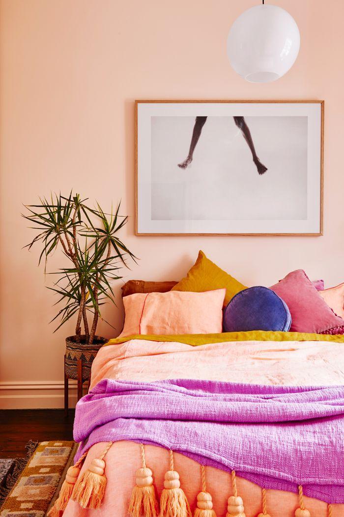 dreamy, sorbet bedroom!