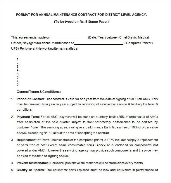 Supply Contract Templates supply agreement contract supplier - yearly contract template