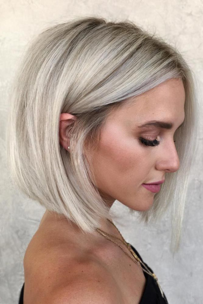 Blunt Shoulder Length Bob #bob #straighthair ★ Explore tips on how to get straight hair. Our tips will work for short, medium, and long haircuts. Enhance the natural texture. #glaminati #lifestyle #straighthair