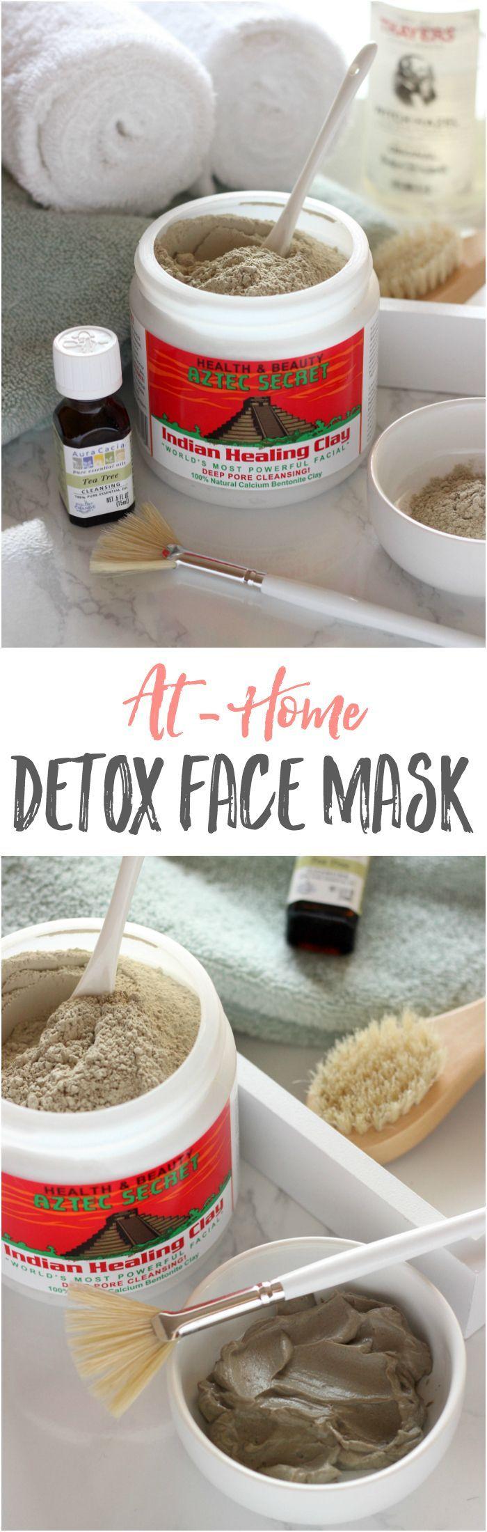 לנקות את הפסקות מהר עם זה פשוט detoxifying קליי מסכה!