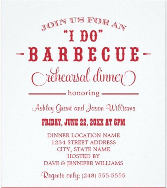Free Dinner Invitations Printable Rehearsal Dinner Invitations - dinner invitation template free