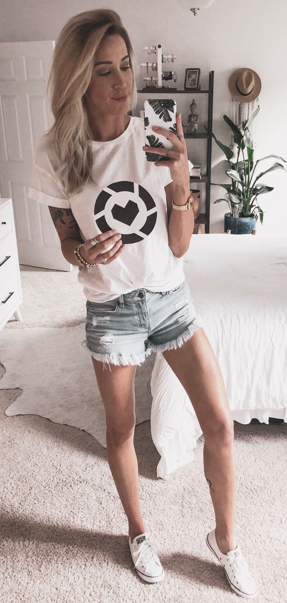 white blouse #summer #outfits