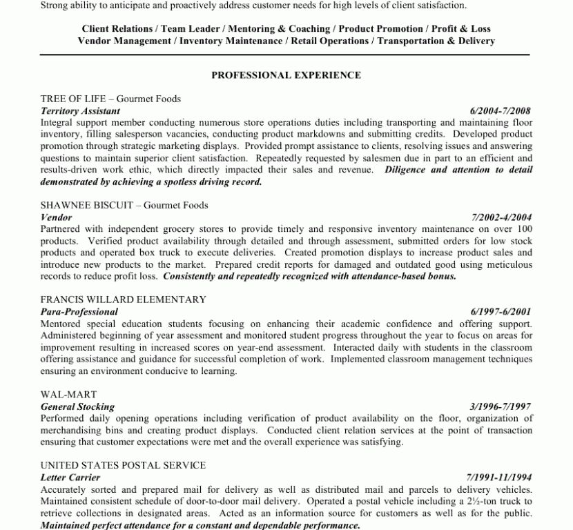 ... Ideal Objective For Resume How To Write A Career Objective On A - mail  carrier resume ...