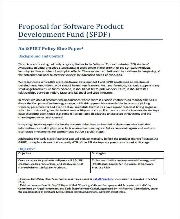 Product Proposal Template Product Proposal Sample, Sample Product - policy proposal template