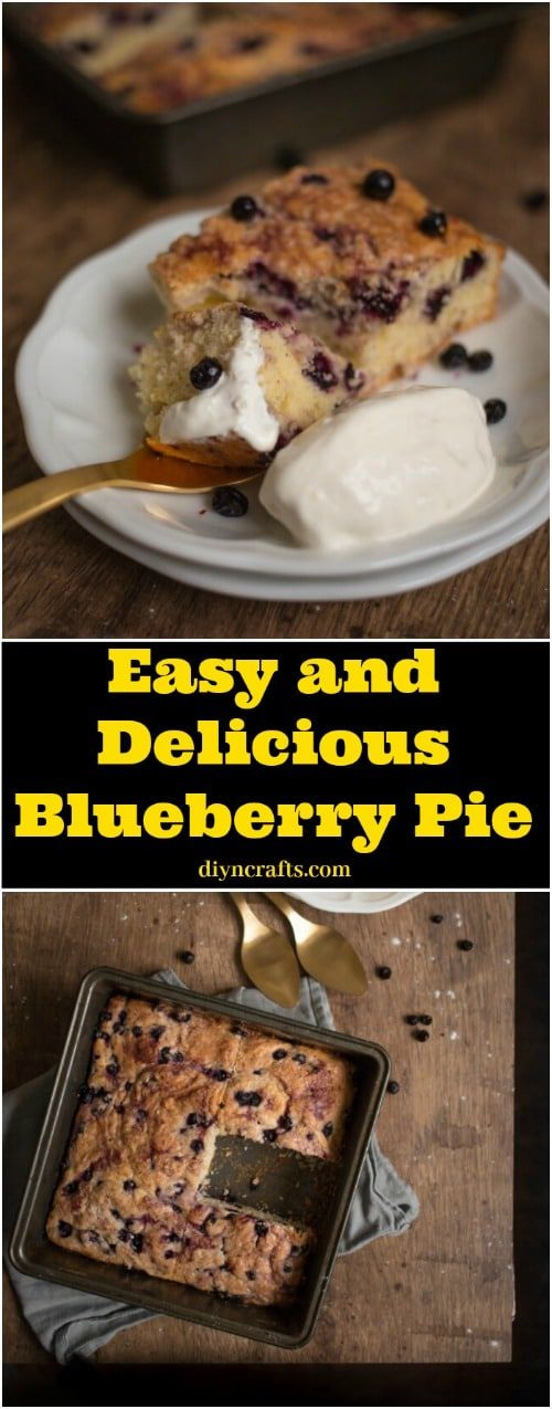 Easy and Delicious Blueberry Pie Just Like Grandma Makes It