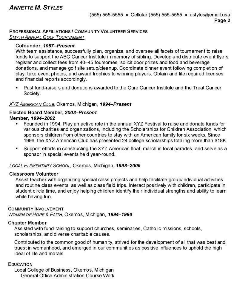 college principal resume how to create a college resume