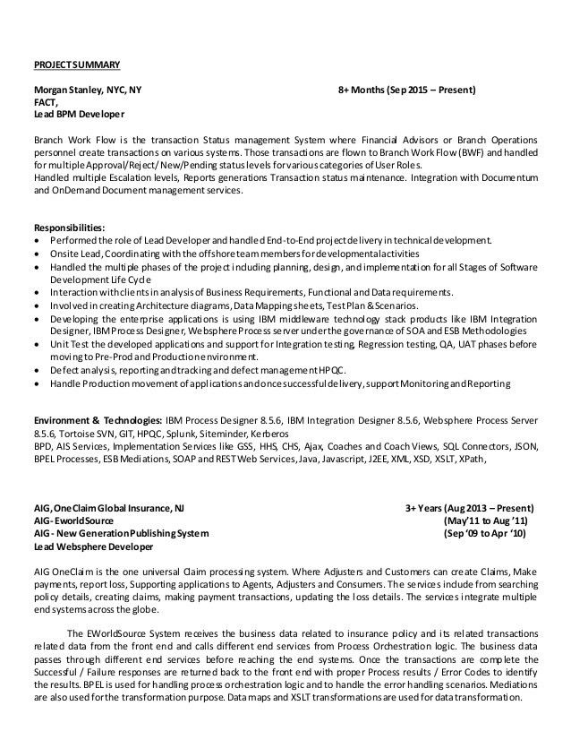 Documentum Developer Cover Letter Cvresumeunicloudpl