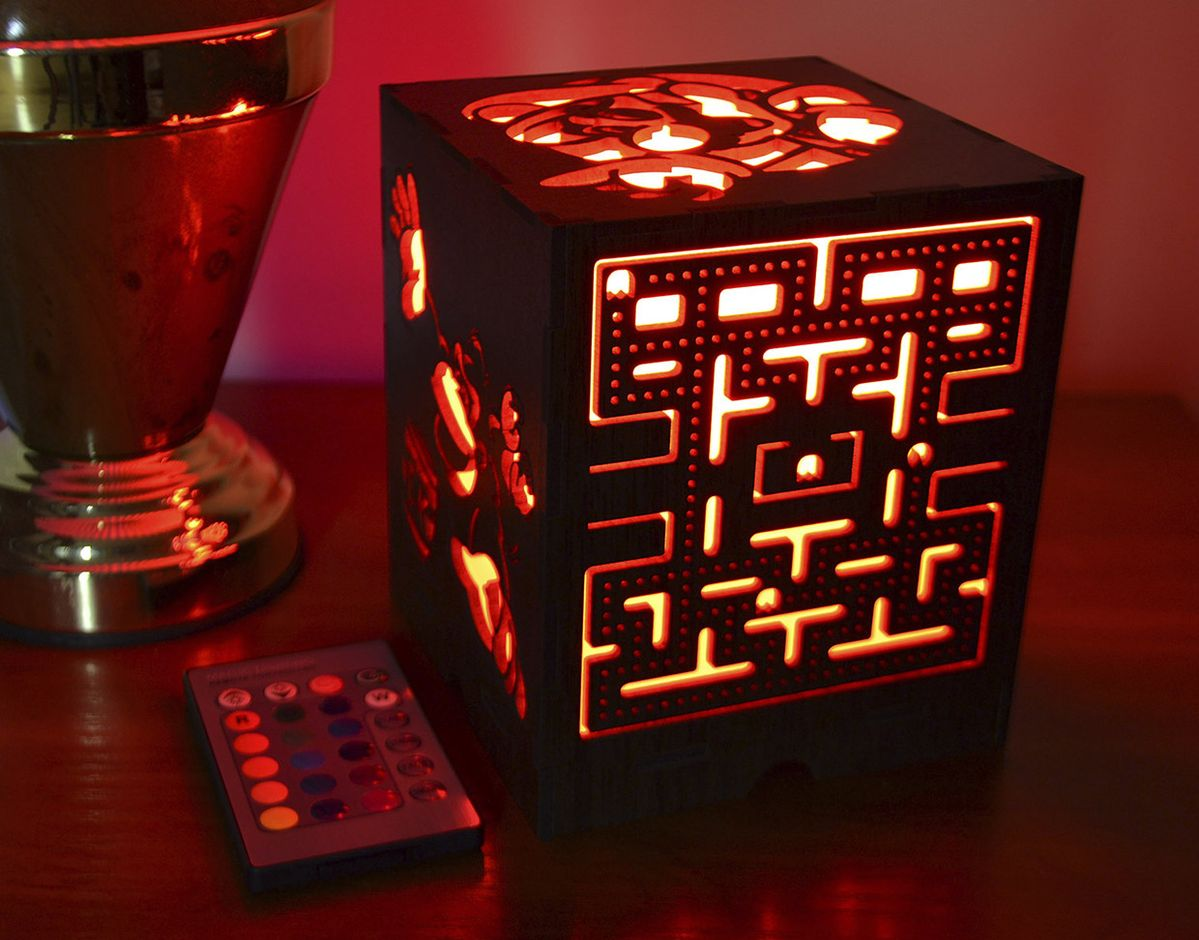Celebrate Your Love for Retro Video Games with this Sweet Nightlight