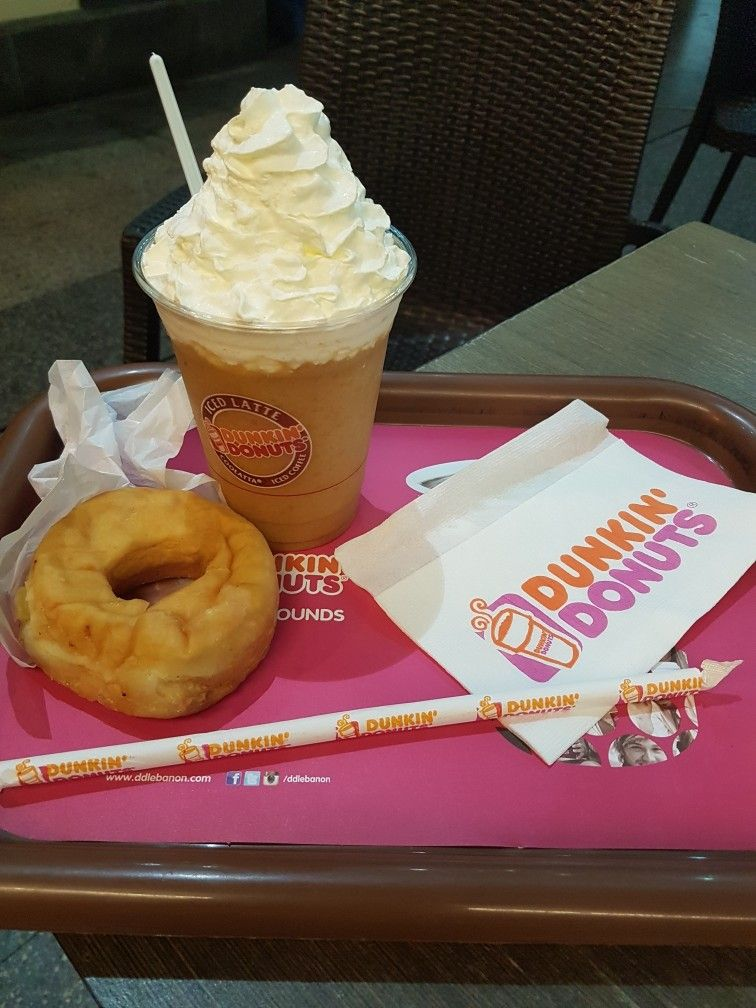Dunkin Donuts Beirut Lebanon Dunkin Dunkin Donuts Ice Cream