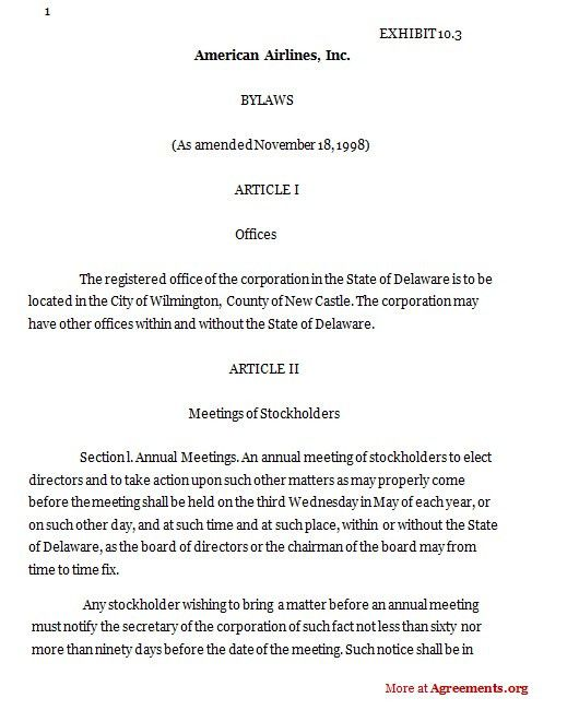 Exelent Ngo Bylaws Template Illustration - Example Resume Ideas - ngo bylaws template