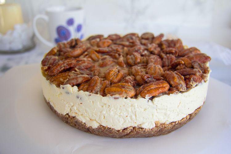 No Bake Keto Pecan Cheesecake - Divalicious Recipes