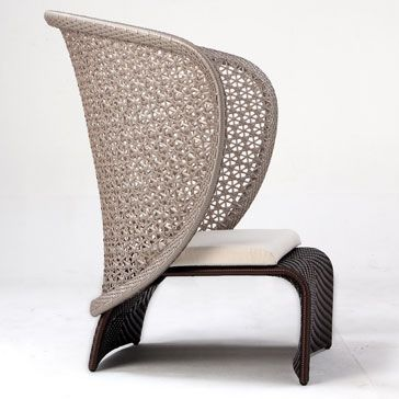 Exotica Dining Arm Chair with Cushion | Design l Outdoor Fur ...