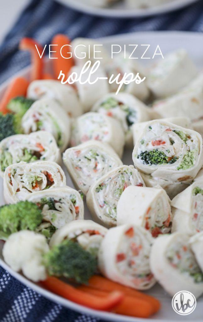 Veggie Pizza Roll-Ups