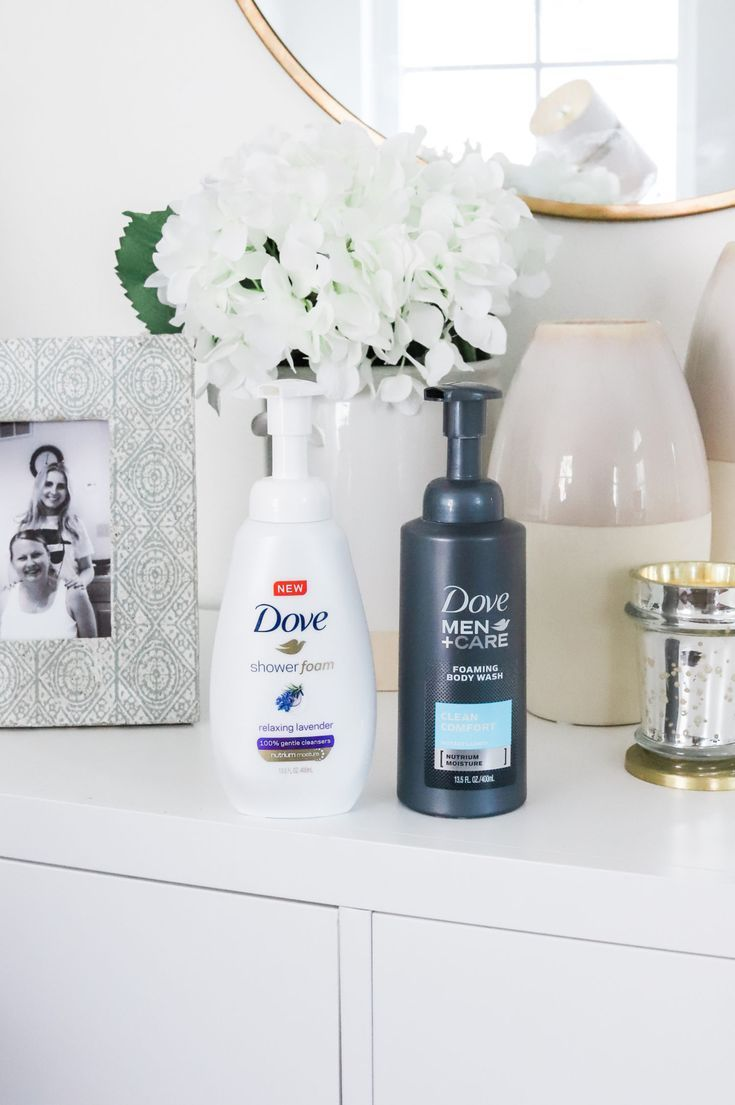 Looking for the best drugstore body wash? The Dove Shower Foam in the new Relaxing Lavender scent from Walmart is INCREDIBLE, and the Dove Men + Care Body Wash is amazing for the man in your life! Click through this pin to learn about where to get the best deals on Dove body wash! #SuperiorShower #Walmart #ad | Orlando, Florida beauty blogger Ashley Brooke Nicholas | gifts for moms, gifts for new moms, best body wash, best drugstore body wash, best of beauty, ride or die beauty, drugstore beauty