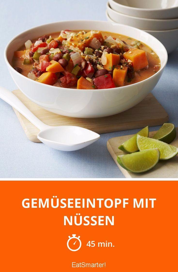 Gemüseeintopf mit Nüssen - smarter - Zeit: 45 Min. | eatsmarter.de    #suppenrezepte #eintopfrezepte