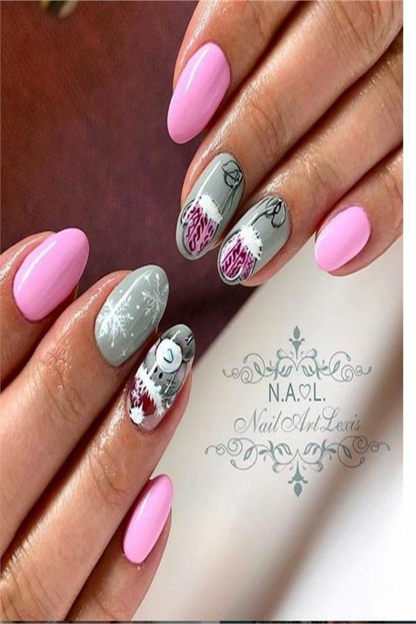 35 Creative Designs for Almond Nails You Must Try – Fashonails #nail_art_designs #trendy_nails #almond_nails #top_nails