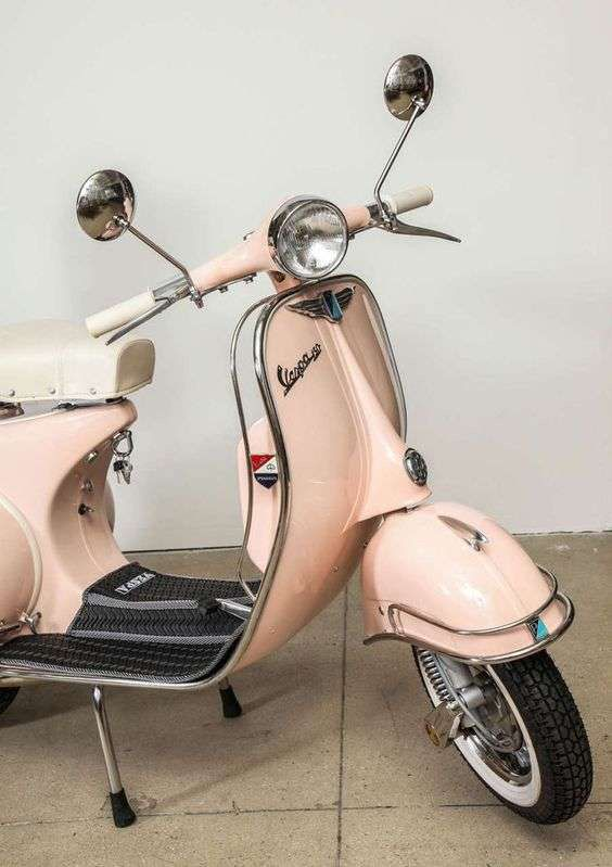 1963 Pink Vespa