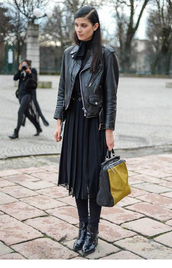 Cool all black street style inspiration