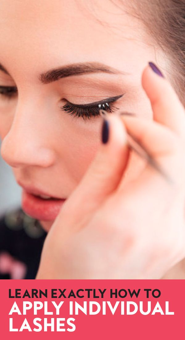 Exactly How to Apply Individual Lashes —and Why You Should Be Using Them in the First Place