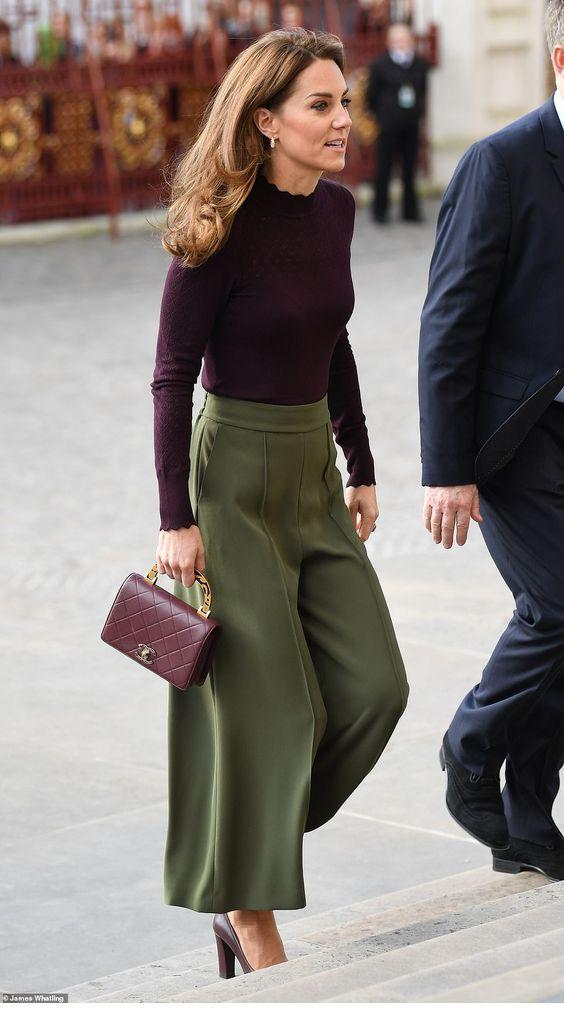 I love her pants and bag