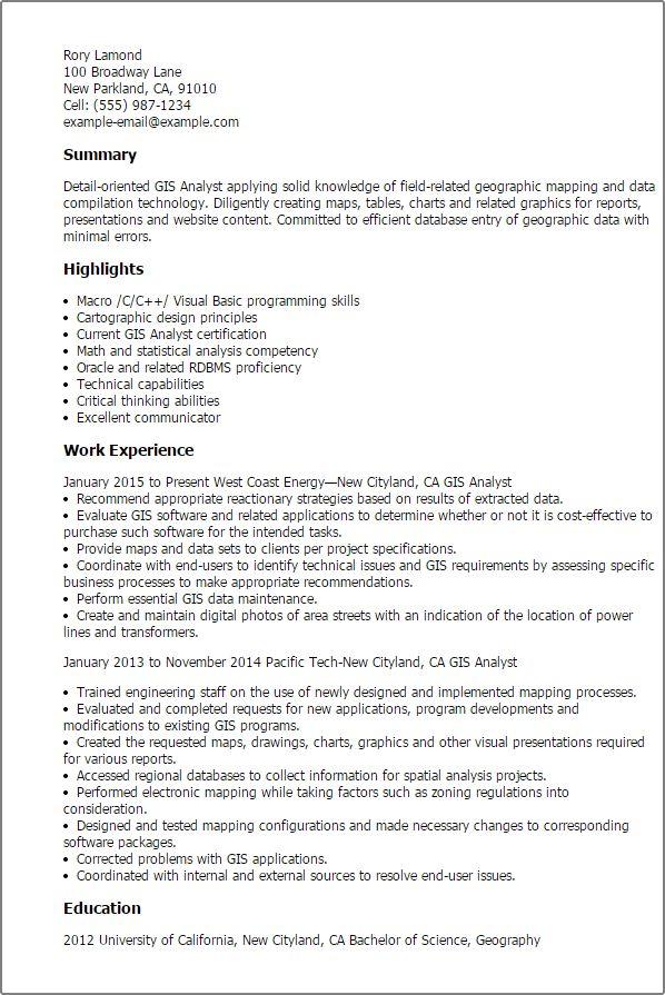 gis consultant sample resume env 1198748 resumecloud - Gis Consultant Sample Resume