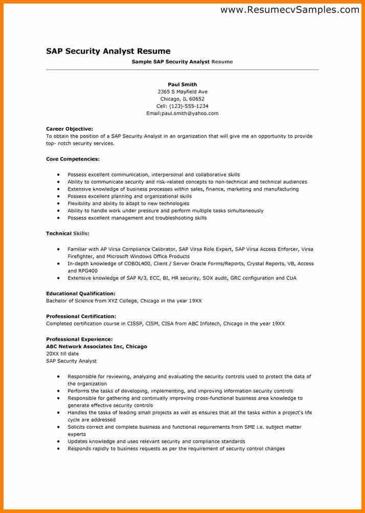 information security analyst resume sle 28 images 100 sap sap