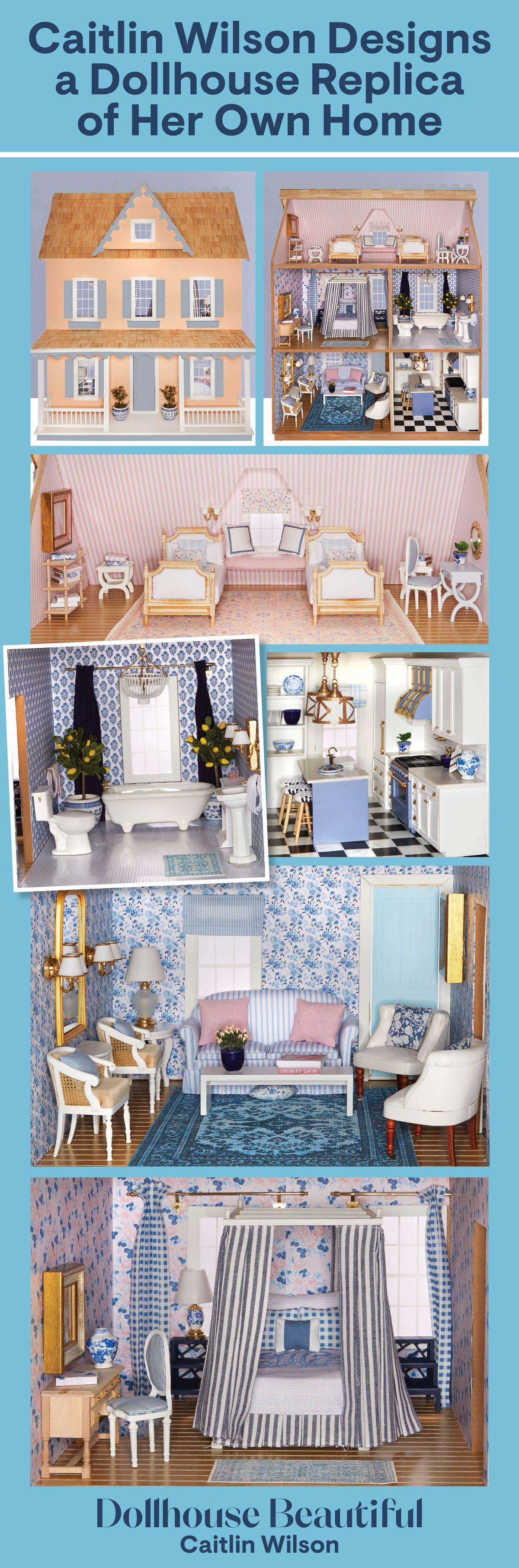 A Pretty Pastel Dollhouse