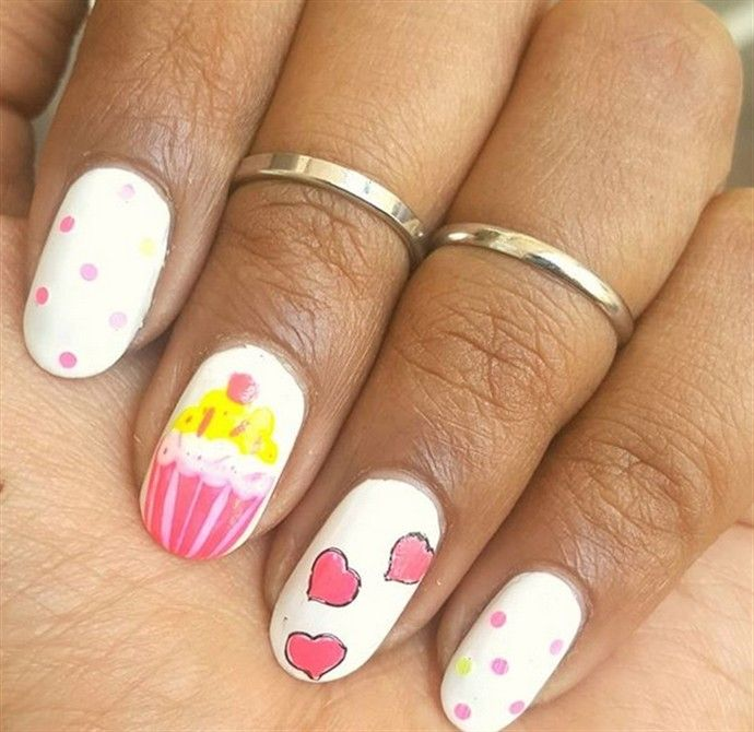 25+ Awesome Nail Art Designs Ideas for Birthday – Fashonails