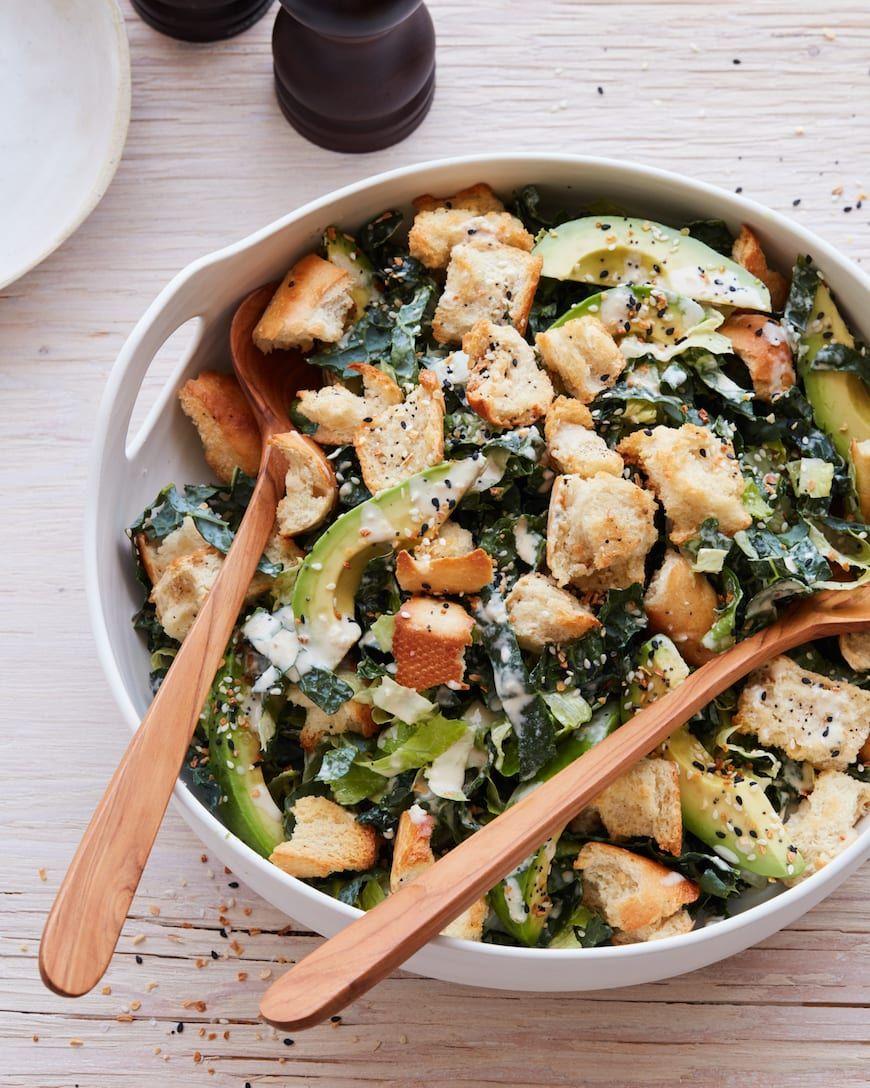 Avocado Kale Caesar - What's Gaby Cooking