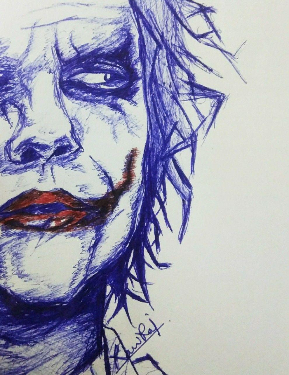 Art Sketch Easy Joker