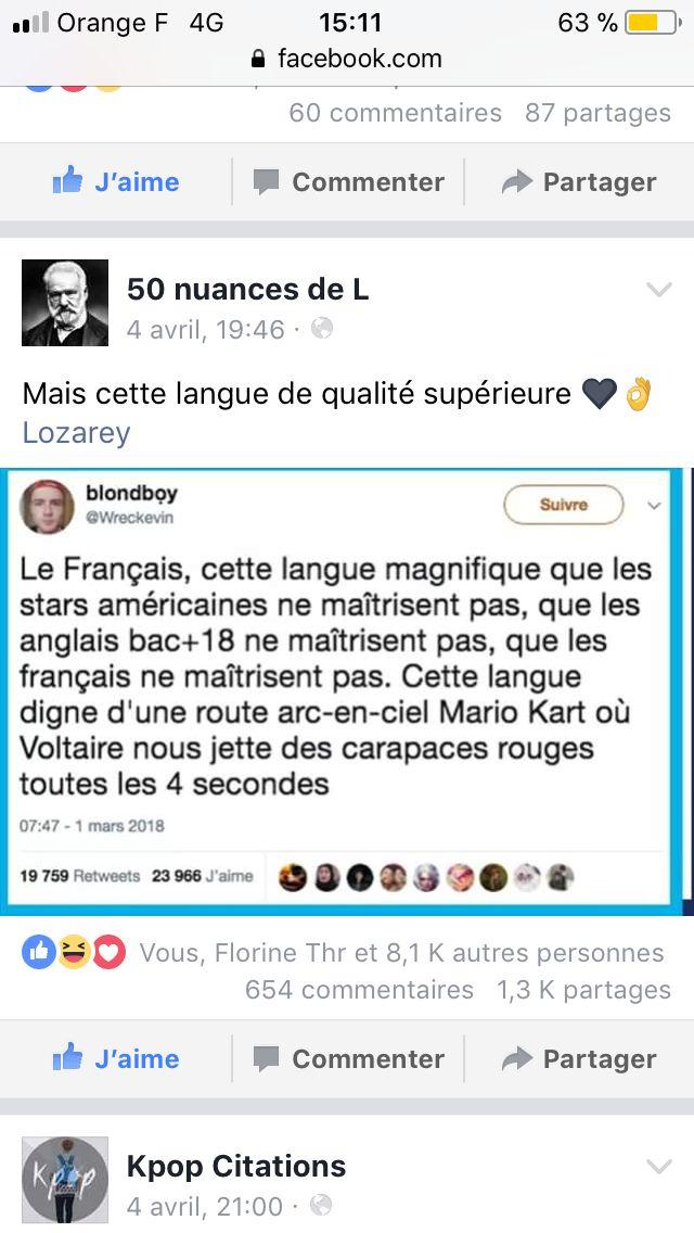 """Suivez """"50 Nuances De L"""" sur Twitter 👌"""
