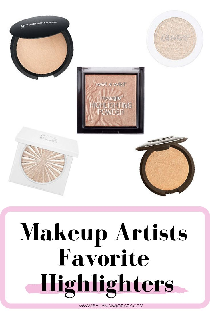 Makeup Artists Favorite Highlighters